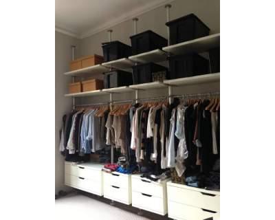 Ritiro a Milano e consegna a Silea (TV) cap 31057 cabina armadio IKEA usata  Spedingo.com