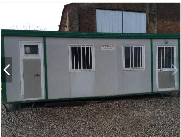 2 container da cantiere for Container ufficio usati